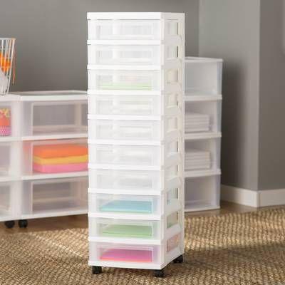 15 Drawer Storage Chest Storage Drawers Craft Room Storage Craft Storage