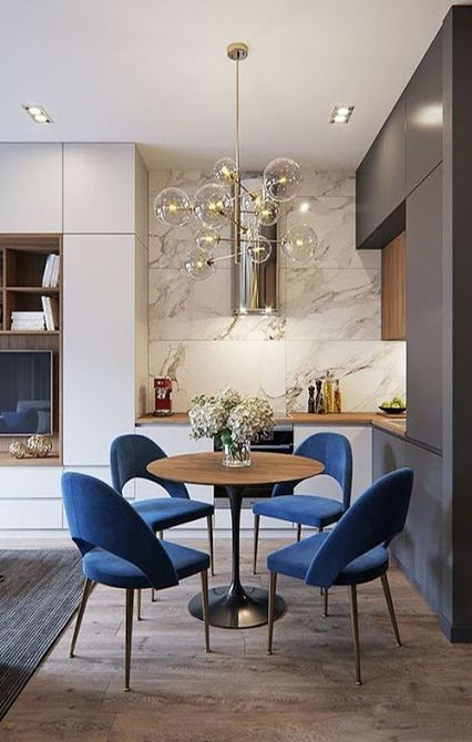 Interior Design Ideas Small Space Yet Chic Dining Rooms