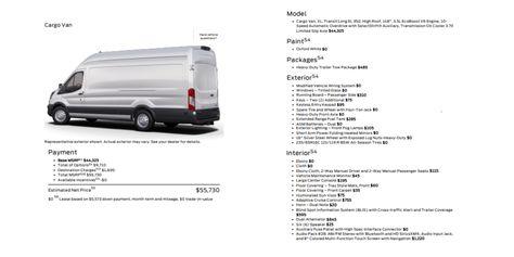 ford order sheet