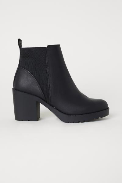 Ankle Boots - Black - Ladies | H\u0026M US