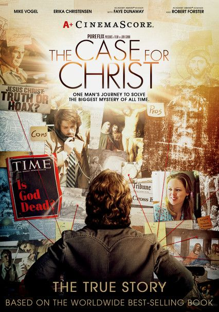 The Case For Christ Netflix Intent On Convincing His Wife That She S Made A Mistake In Becoming A Christian In Case For Christ Faith Movies Christian Movies