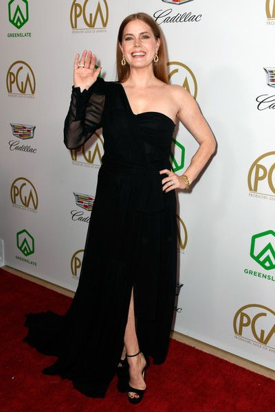 Amy Adams attends the 30th annual Producers Guild Awards at The Beverly Hilton Hotel.