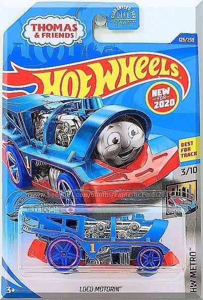 Thomas the Train 2020 Hot Wheels LOCO MOTORIN/' Thomas /& Friends