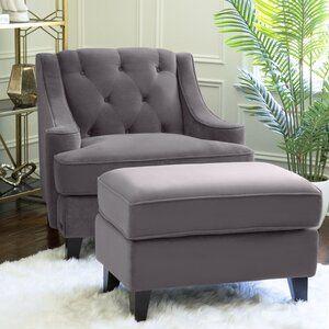 Grifton 90 Charles Of London Sofa Chair And Ottoman Set Chair And Ottoman Furniture