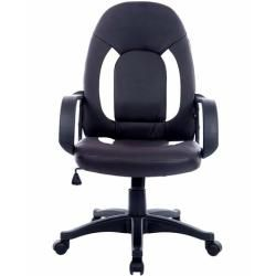 360 Degree Swivel Tilt Mechanism Max Weight Capacity 150kg Ergonomic Design DOSLEEPS Office Chair Black Heavy Duty Comfortable V Shape Medium Back Home Office Work Computer Gaming Desk Chair