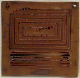 pcbprt - Fabrication artisanale de circuits par impression à jet d'encre
