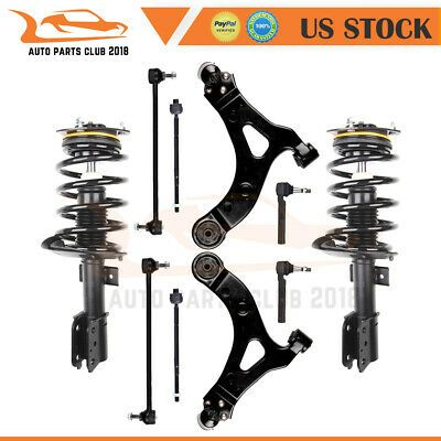 Details About Struts Assembly Suspension Control Arm Sway Bar For