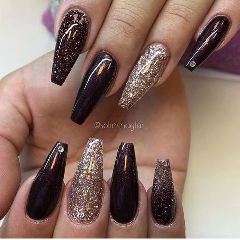 The Creative Acrylic Coffin Nails are so perfect for winter holidays Hope they can inspire you and read the article to get the galler.