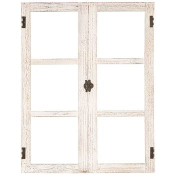 Distressed White Window Frame Wood Wall Decor With Images Wall Decor Online Window Wall Decor Window Frame Decor