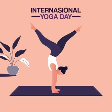 Woman Doing Yoga In International Yoga Day Person Yoga Woman Png And Vector With Transparent Background For Free Download In 2020 How To Do Yoga Yoga Day International Yoga Day