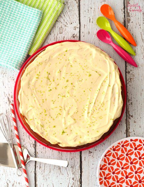 Lime & Almond Cannellini Cake – Pastel de Alubias con Limón y Almendra