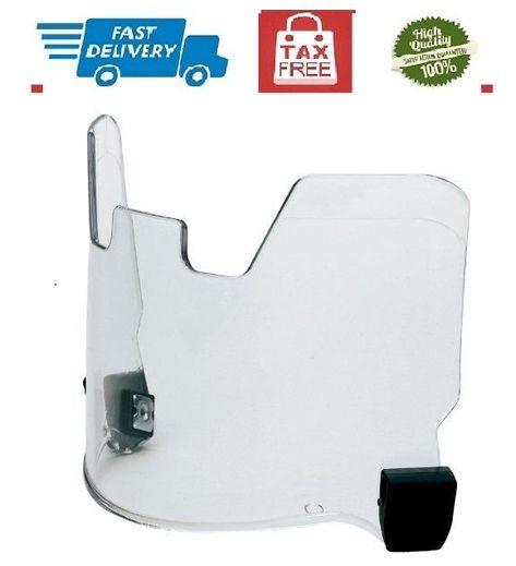 Clear View Protective Football Helmet Visor EYE Shield Molded Eyeshield FitsMost