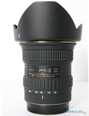 Tokina Canon Ef 12 24mm F4 If Dx At X Pro Wide Angle Af Zoom In 2020 Camera Lenses Lenses Wide Angle