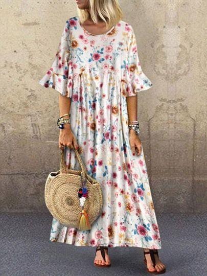 Sommerkleider Damen Maxi Kleid 25 Rabatt 105 Code Mid 12 Rabatt 75 Code 7512 8 Short Sleeve Maxi Dresses Maxi Dress With Sleeves Plus Size Maxi Dresses