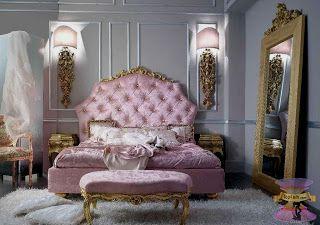 تصاميم غرف نوم بنات وغرف نوم الفتايات بديكورات رقيقة 2021 In 2020 Glamourous Bedroom Italian Bedroom Luxurious Bedrooms