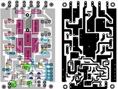 Power Amplifier 1000W Rocky TEF | PCB's Layout Design | Diy
