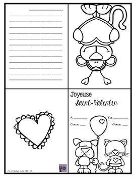 Cartes De La St Valentin Carte St Valentin Dessin Saint