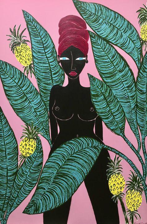 Pinturas - La cartera de Hannah Carrick