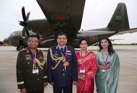 British firm Marshall rolls out first Bangladeshi C-130J