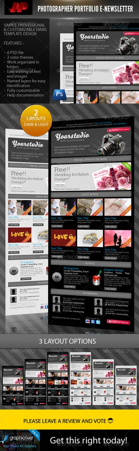 wedding invitation template themeforest%0A Couple  Wedding Enewsletter Template   Newsletter templates  Couples and  Wedding