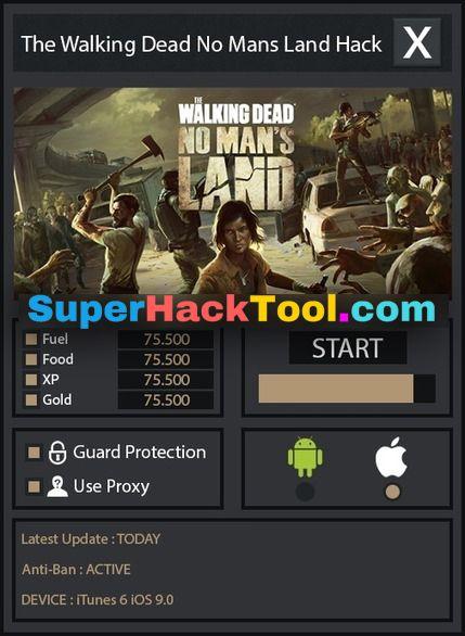 The Walking Dead No Man S Land Gold Hack Cheats 100 Legit 2018