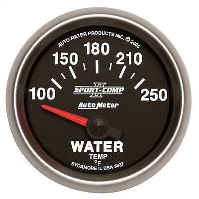 sponsored ebay autometer 3637 sportcomp ii electric water