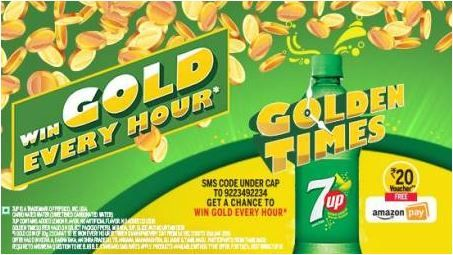 7up Amazon Offer Trick Get Free Rs 20 Amazon Voucher On Each