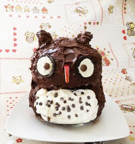 Risultato immagini per torta gufo compleanno Giulia blog