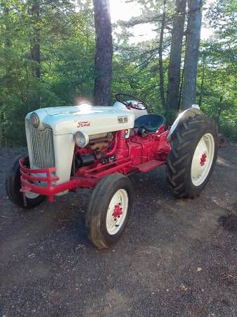 Ford Jubilee 1953 Tractor 3300 Galax Tractors Jubilee Ford