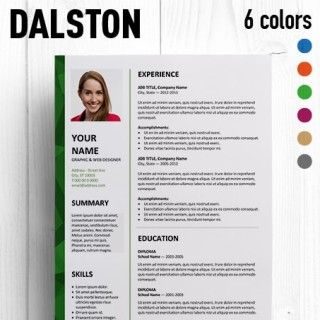 Dalston Free Resume Template Microsoft Word Resume Template Resume Words Downloadable Resume Template