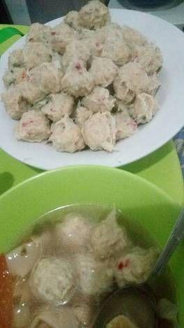 Resep Bakso Rambutan Bakso Ayam Kres Giling Blender Oleh Veronica Prakoso Resep Bakso Resep Makanan Dan Minuman
