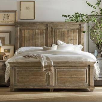 L Usine Panel Bed With Images Panel Bed Frames Wood Bedroom