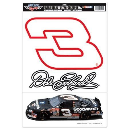 Dale Earnhardt 2010 11 x 17 Car and Number Combo Ultra Decal by WinCraft. Save 70 Off!. $7.00. Officially licensed decal. Ultra decal stick to multiple surfaces and are removable and reusable. These versatile decals can be used indoors or outdoors and will not leave a residue when removed.