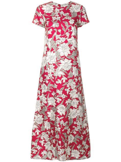 La Doublej Lilium Swing Dress Multicolour In 2020 Swing Dress Dresses Beautiful Outfits