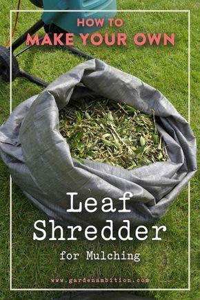 Leaf Shredder For Mulching