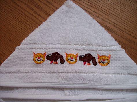 Borduren Op Badstof.Geborduurd Op Een Badstof Babycape Mijn Borduren Embroidery