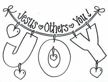 Joy Jesus Others You Jesus Crafts Sunday School Crafts