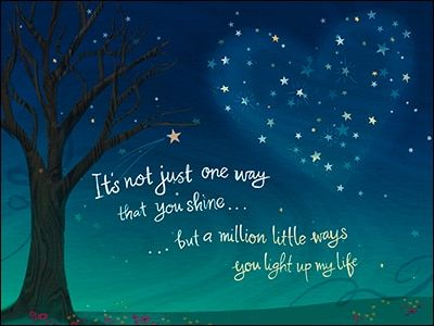 Friendship Card But A Million Little Ways You Light Up My Life Friendship Cards My World Quotes Life