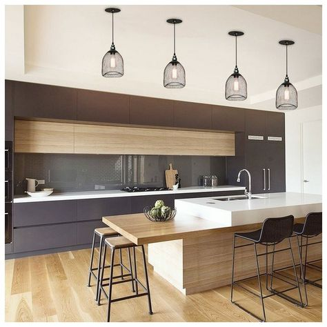 60 Modern Kitchen Design Ideas #kitchenideas #modernkitchendesign #kitchendesign ~ vidur.net