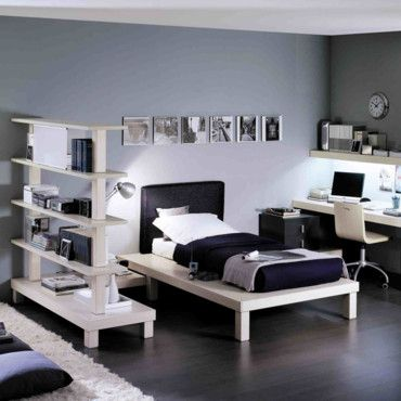 idee de deco pour chambre ado garcon. Black Bedroom Furniture Sets. Home Design Ideas