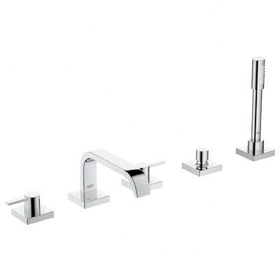 Grohe Allure Two Handle Deck Mounted Roman Tub Faucet With Hand