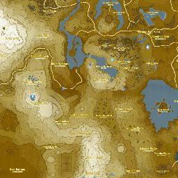 Mapa Mapa Completo Zelda Breath Of The Wild Zelda The Legend Of Zelda Mapas