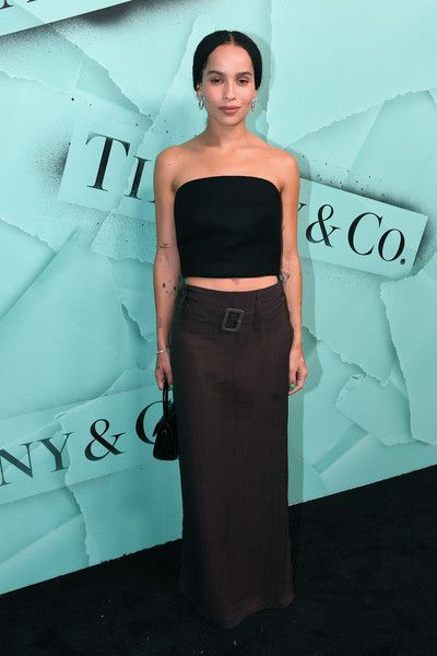Zoe Kravitz attends as Tiffany & Co. Celebrates 2018 Tiffany Blue Book Collection, THE FOUR SEASONS OF TIFFANY, at Studio 525.