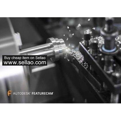 250 00 USD Autodesk FeatureCAM 2019 full version | Software