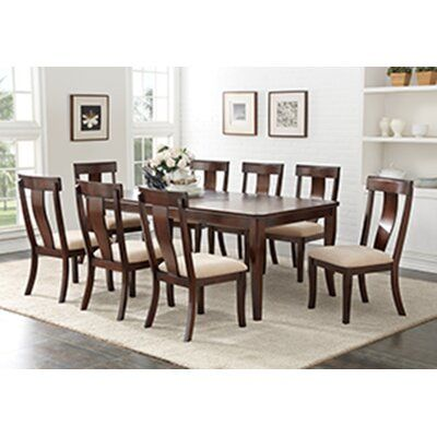 Darby Home Co Barrackville Extendable Dining Table Wayfair In 2020 Dining Table In Kitchen Dining Room Design Dining Table With Leaf