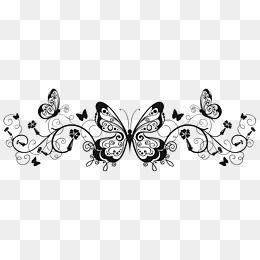 Butterfly French Pattern Border Png Picture Butterfly Clipart French Clipart Butterfly Png Transparent Clipart Image And Psd File For Free Download Butterfly Clip Art French Pattern Clip Art