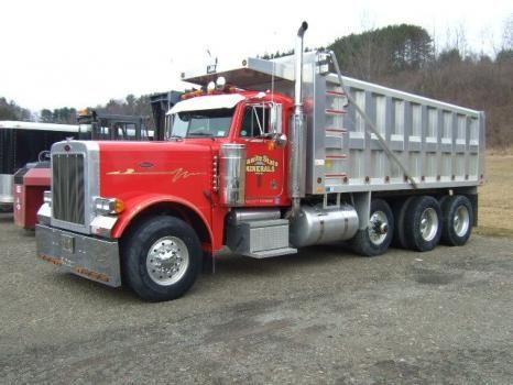 Semis Truck for Sales Peterbilt   Peterbilt 379 Heavy Duty Truck For Sale in New York otego   Peterbilt ...