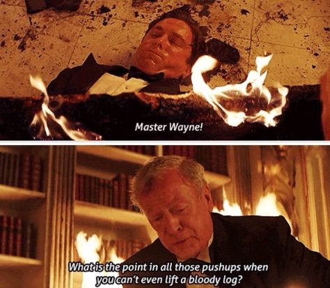 #3. Batman Begins. Actually one of the most unexpected lines in the movie, in my opinion. Lol.