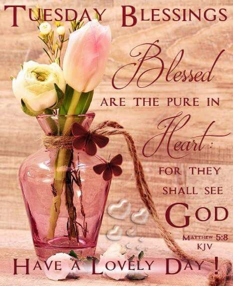 Tuesday Blessings Tuesday Quotes Good Morning Tuesday