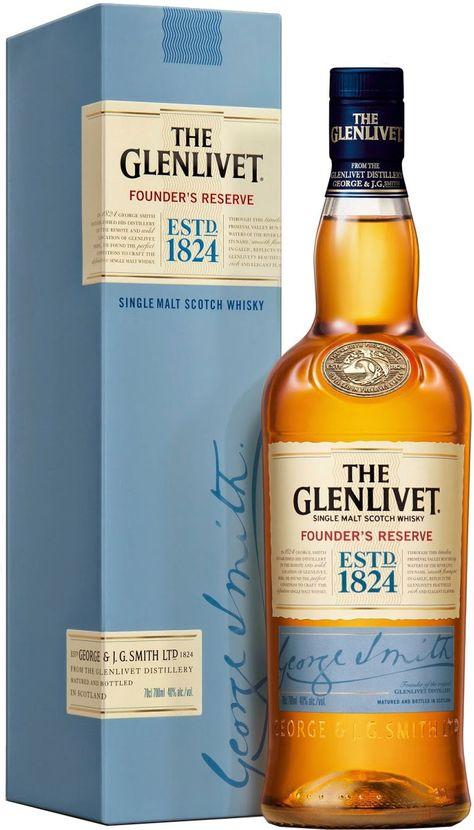 The Glenlivet Founder's Reserve Single Malt Scotch Whisky | @Caskers